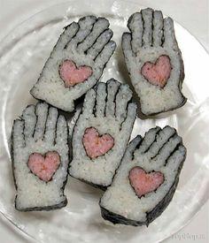 Hand sushi