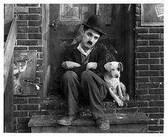 Mut & Charles Chaplin (Charlot). www.jrbatalle.com