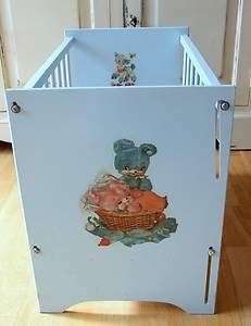 For sale...Vintage Doll's Bed Dollie's Crib Cot Cradle. Tri-ang Toy. Ask for Posting Quote | eBay