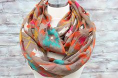 Infinity  scarf for woman great accessory for your by aCutee, $12.99