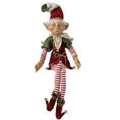 so cute must have for next xmas raz elf christmas decoration made of polyester - Elf Christmas Decorations
