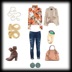 """jeans outfit 4"" by kkollektion on Polyvore"