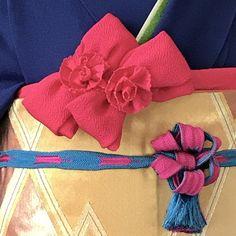 イメージ 3 Japanese Kimono, Japanese Style, String Quilts, Yukata, Traditional Outfits, Inspiration, Accessories, Bustle, Clothes