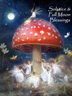 Solstice & Full Moon Blessings