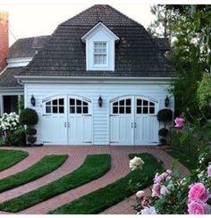 garage/driveway