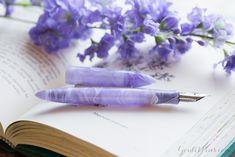Goulet Pens Blog: Edison Nouveau Premiere Lilac Spring 2015 SE Fountain Pen