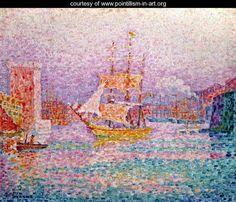 Paul Signac The port of Marseille 1906 Hermitage Museum - Saint . Oil On Canvas, Canvas Art, Canvas Prints, Art Prints, Canvas Size, Henri Matisse, Georges Seurat, Paul Signac, Pop Art