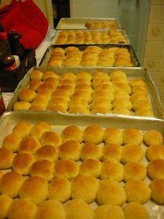 Mini pães de Hamburger!