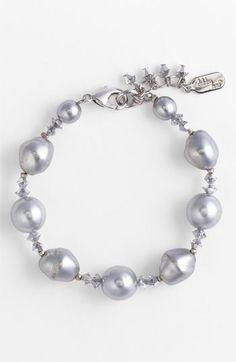 Dabby Reid Glass Pearl & Crystal Bracelet | Nordstrom $46