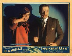 Lobby Card from the film The Invisible Man