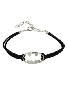 DC Comics Batman Logo Cord Bracelet Kovové Šperky 6506b7b1c64
