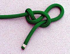 Slippery Figure Eight Stopper Knot