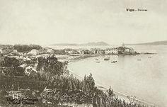 Vigo, La Antigua Ciudad Olívica Bouzas en 1900.