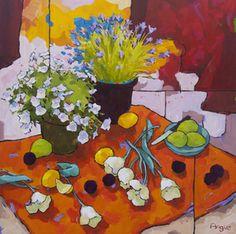 Arrangement of Six Tulips