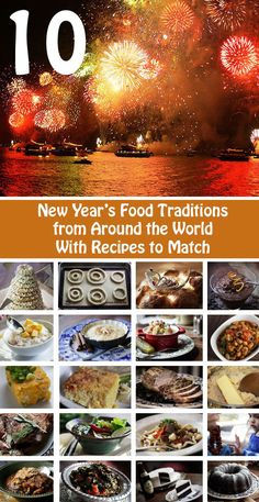 10 New Year's Food Traditions from around the world with 19 recipes to match.