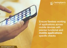 #Mobile #testing needs more than just testing of the application functionality. TestingXperts carries out precise checks such as Installation testing, Upgrade testing, Landscape/Portrait Mode Testing, UI Testing, #Battery Drain Testing, #Memory testing, Interruption Testing, Carrier-Based Testing, GPS, Touch Testing, Connectivity testing, Broken links testing to ensure the flawless working of #applications across mobile #devices. Explore https://goo.gl/0SN8hL