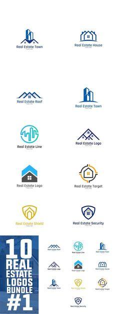 115 best real estate logo design images logo designing real rh pinterest com