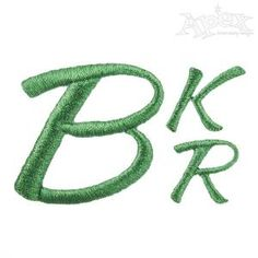 Summer Script Embroidery Fonts