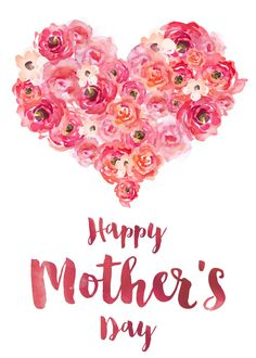 Free Mother's Day Card Printable   ashandcrafts.com