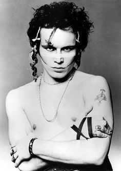 Wednesday of November 1954 Musician Adam Ant, originally Stuart Leslie Goddard known from Adam and the Ants is born in Marylebone, London, Greater London, United Kingdom. Adam Ant, Gene Loves Jezebel, Ant Music, Brooklyn Bowl, Modern Goth, Ian Curtis, Post Punk, My Favorite Music, Ants