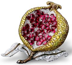 Michelle Ong's mouthwatering pomegranate #jewelrytrends
