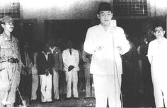 Soekarno - Indonesian Independence Declaration