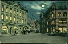 Møre og Romsdal fylke Ålesund AALESUND sentrum postgått 1917