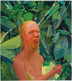 """Dana Schutz: Frank as a Proboscis Monkey, 202, oil on canvas, 36"""" x 32"""""""