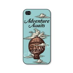 iphone 4 case  Adventure Awaits vintage phone case by CaseHive, $16.99