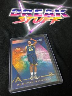 Donovan Mitchell Rookie Card 96/129 #donovanmitchell #utahjazz #rookiecards #nbacards #basketballcards #panini #paniniamerica #whodoyoucollect #tradingcards #marketplace #ballin #ballislife #collector #cardcollector Donovan Mitchell, Utah Jazz, Basketball Cards, Trading Cards, Nba