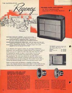 Electrovoice Regency had a huge sound.