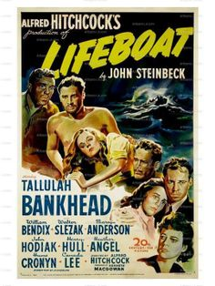 "Lifeboat (1944) - cameo @ 0:25 in the "" before"" and ""after"" pictures in the newspaper ad for Reduso Obesity Slayer"