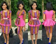 Traditional African print made modern