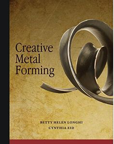Join accomplished metalsmiths Betty Helen Longhi and Cynthia Eid in this comprehensive survey of ways to form sheet metal. Creative Metal Forming covers a huge swath of techniques, from a basic dapped disk to synclasting, anticlasting and spi Jewelry Tools, Jewelry Supplies, Metal Jewelry, Jewelry Art, Jewelry Making, Sheet Metal Art, Origami Insects, Metal Forming, Money Origami
