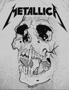 💀🕸Pushead for MetallicA🕸💀 Metallica Tattoo, Metallica Art, Hard Rock, Heavy Metal Rock, Heavy Metal Bands, Heavy Metal Tattoo, Musica Metal, Rock Y Metal, Tattoo Ideas