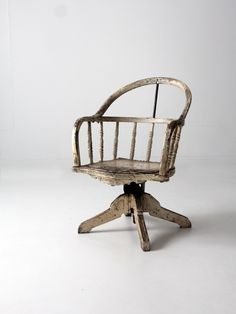 1900s swivel desk chair - 86 Vintage