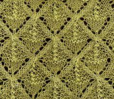 Lace Knitting Stitch #1