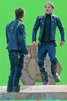 Star Trek Beyond. New uniforms again. Star Fleet must be run by fashionistas.