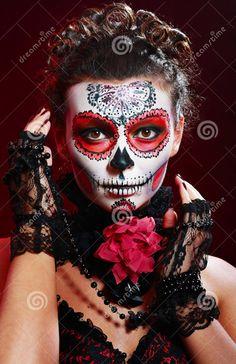 ISA - Sugar skull makeup