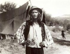 A kalderari boy near a tent, 1930s A photo from Florin Petru Manole's archive.