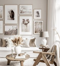 Beige Living Rooms, Boho Living Room, Home And Living, Living Room Decor, Beige And White Living Room, White Beige, Inspiration Wall, Living Room Inspiration, Living Room Pictures