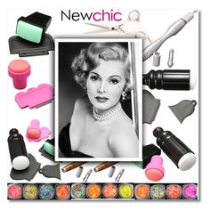 """21. Newchic"" by andrea2andare ❤ liked on Polyvore featuring beauty and Gabor"