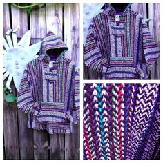 Baja Hoodie from Mexican Threads @ http://www.foreverboho.com/baja-hoodie/