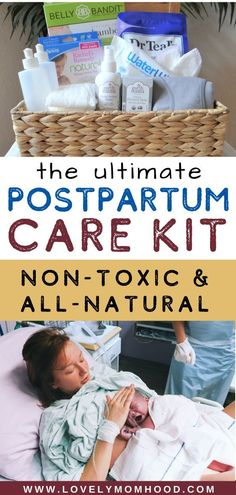 Healing after giving birth is an import postpartum care process. Be ready with everything you need to have in hand for your postpartum recovery with this DIY postpartum care kit (all-natural and and non-toxic). Diy Postpartum, Postpartum Must Haves, Postpartum Recovery, Natural Birth, Natural Baby, Natural Healing, After Giving Birth, Baby Care Tips, Preparing For Baby