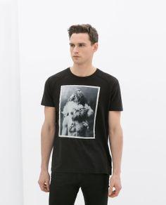 Imagem 1 de T-SHIRT REMENDO ESTAMPADO da Zara