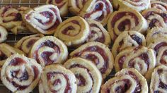 Tracy's Living Cookbook: Cranberry- Marmalade Pinwheels