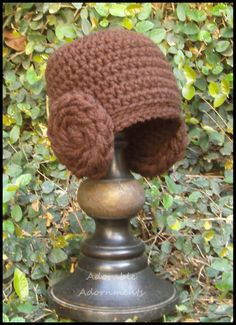 Princess Leia Beanie by superflyhel on Etsy - adult size too