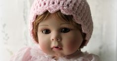Lacy Crochet: Simple Baby Beanie with Scalloped Edging, Free Crochet Pattern