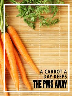 A Carrot a Day Keeps the PMS Away - HomesteadingandHealth