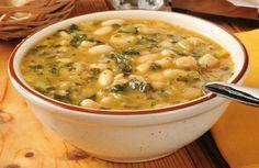 Winter White Bean and Italian Sausage Soup Recipe via @SparkPeople